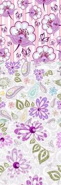 Beautiful purple background pattern vector