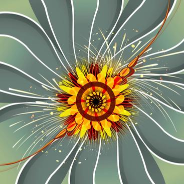 beautiful rakhi background design vector