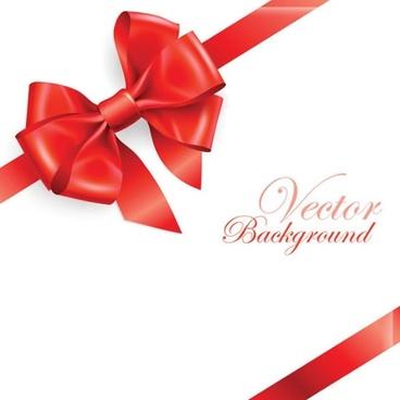 gift card background elegant shiny red bow decor