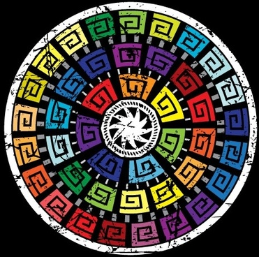 beautiful ring pattern 04 vector