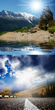 beautiful scenery of highdefinition pictures a
