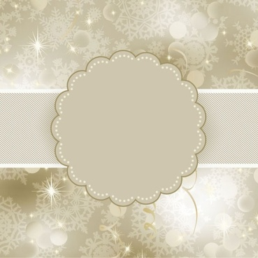 beautiful snowflake background 02 vector