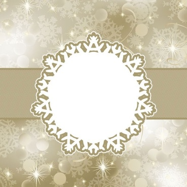 beautiful snowflake background 04 vector