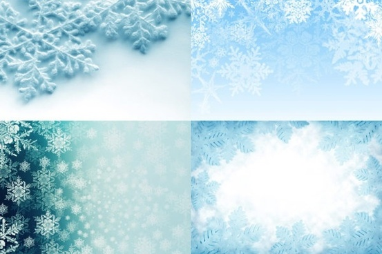 beautiful snowflake background highdefinition picture