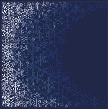 beautiful snowflake pattern background 01 vector