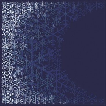 beautiful snowflake pattern pattern background vector