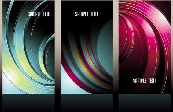 beautiful threedimensional box background 05 vector