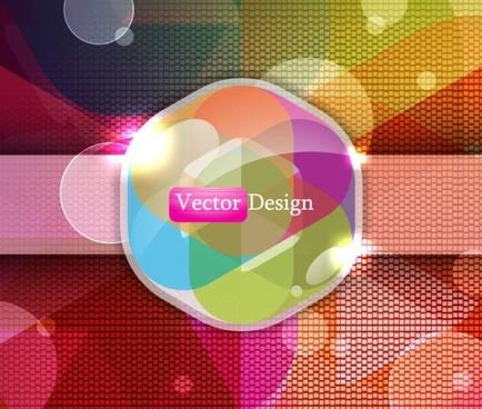 beautiful trend background 04 vector