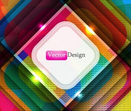 beautiful trend background 05 vector