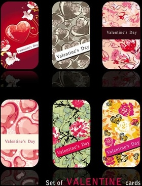 beautiful valentine background card vector