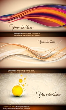 beautiful vector background curve