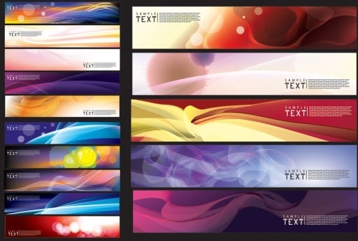 beautiful vector background dream banner