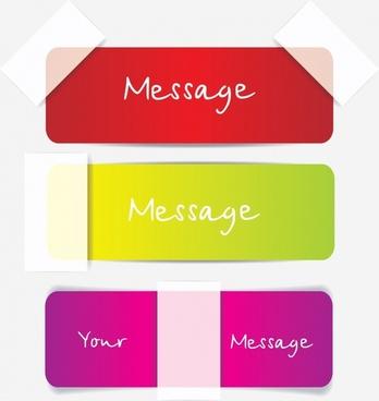 sticker templates plain colored decor