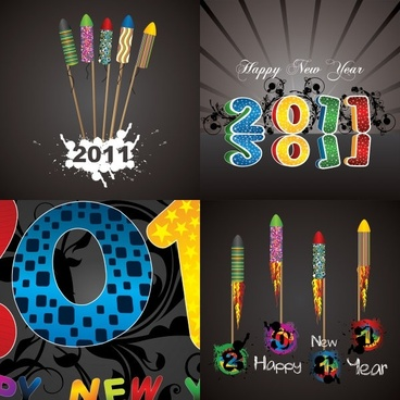 beautifully designed fonts 2011 vector