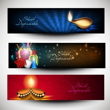 beautifully diwali background 06 vector
