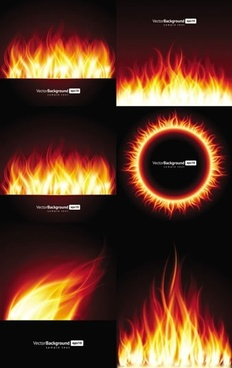 flame background templates colored shimmering modern design