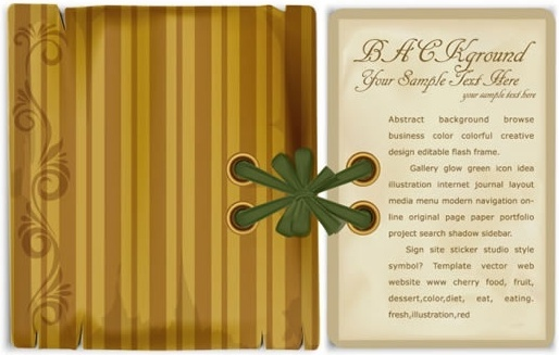 notebook background elegant retro decor