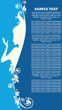 beauty silhouettes elements background vector