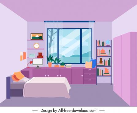 bedroom decor template elegant contemporary decor