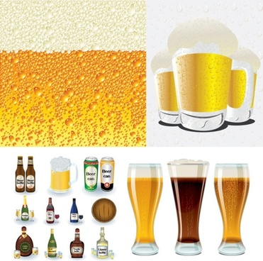 beer series vector