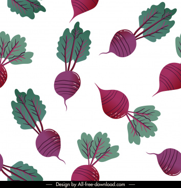 beets pattern colored classic flat repeating decor
