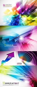 technology background templates modern colorful dynamic 3d lights