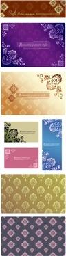 decorative pattern templates elegant classical floral design