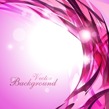 decorative background modern shiny bokeh violet dynamic curves