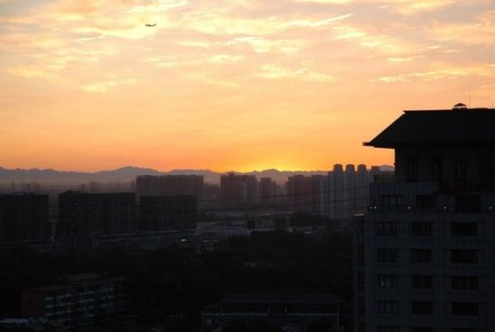 beijing sunrise