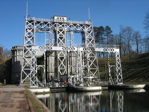 belgium boat lift structure