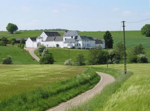 belgium farm landscape