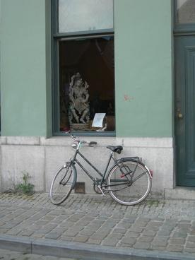 belgium street bicycle