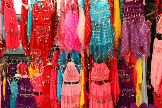 belly dancer dresses