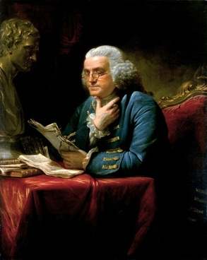 benjamin franklin 1767 writer