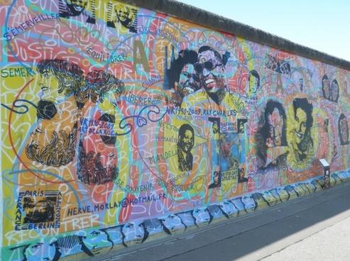 berlin art east side gallery