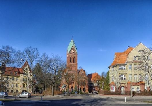 berlin-zehlendorf germany church