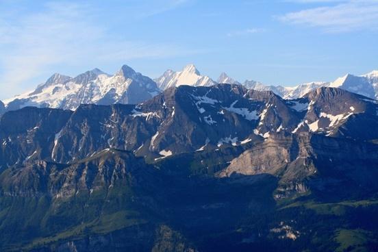 bernese oberland alps brienz