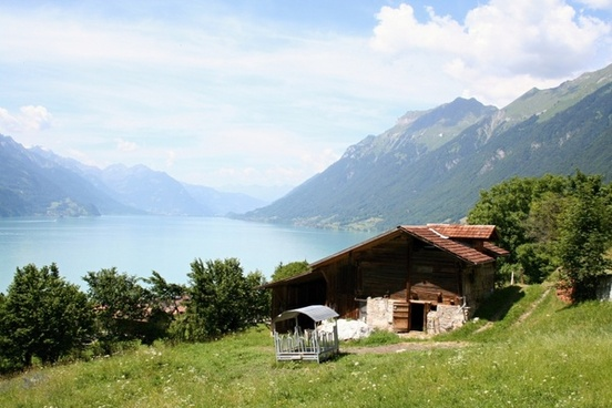 bernese oberland brienz lake of brienz