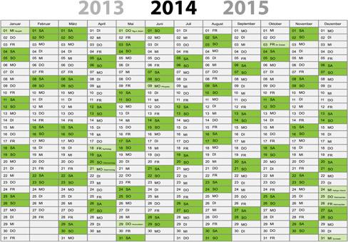 best calendars14 design elements vector