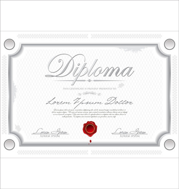 Certificate Template Adobe Illustrator Free Vector Download 225 105