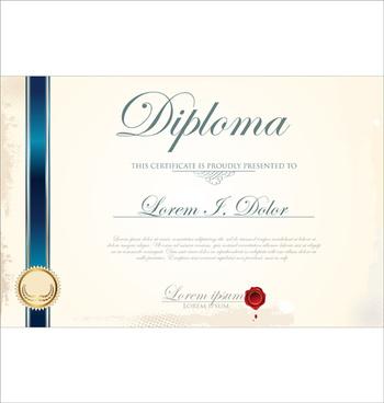 best certificate template design vector