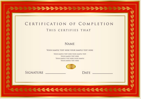 Best certificate photoshop design free vector download 2930 free best certificates design vector set yelopaper Choice Image