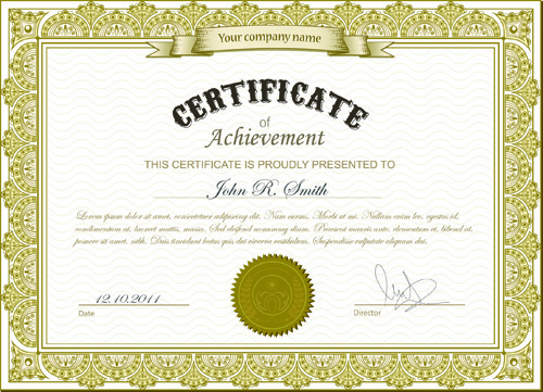 best certificate photoshop design free vector download 2 952 free