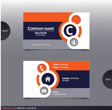 Electric Company Business Card Free Vector Download 23963 Free