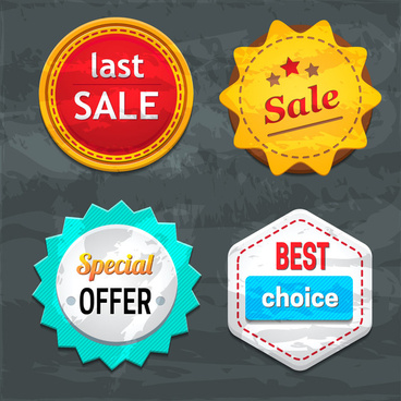 best sale badge set