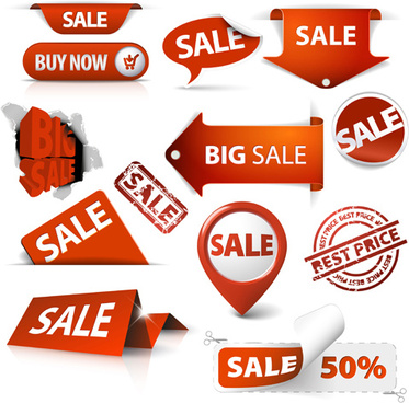 best sale elements label stickers