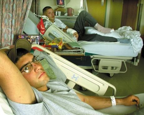 bethesda naval hospital patients men