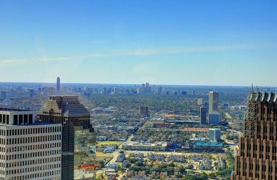 between towers in houston texas