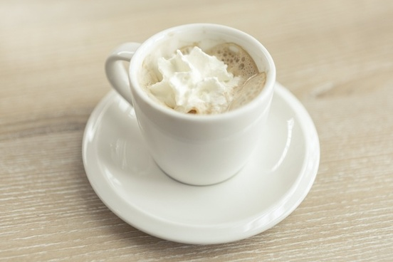 beverage breakfast cafe coffee cream cup dairy