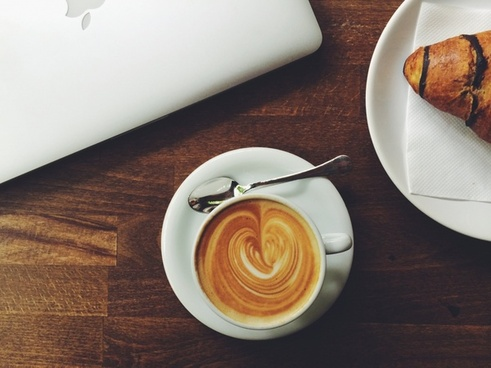 beverage breakfast cappuccino coffee coffee cup cream
